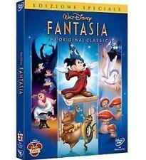 DISNEY DVD  Fantasia - con celophan e slipcover in rilievo rara SC3A