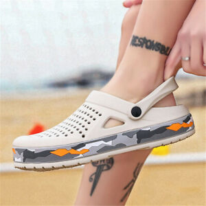 men's breathable Garden shoes beach swimming pool lightweight  sandals