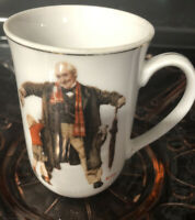 "Norman Rockwell Vintage 1936 ""The Saturday Evening Post"" Coffee/Tea Mug/Cup"