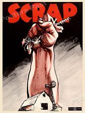 "1940s ""Scrap"" WWII Historic Propaganda War Poster - 18x24"