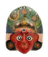 Maschera Nepalese Mahakali Kali Dance Indra Jatra Nepal Carta Mache Mask 3179