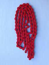BICYCLE CHAIN KMC RED 1/2 X 1/8 112 LINKS KMC 410 SINGLE SPEED