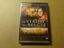 DVD / OORLOG IN WOORD & BEELD: DE STRIJD VAN BELGIE 1830 & 1914-1918 (NEW)