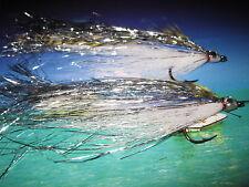 2 V Fly Size 3/0 Baitfish Special Sar Mal Muc Predator Saltwater Flies