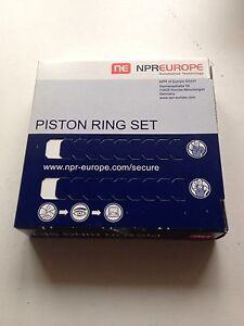 PISTON RINGS FORD PUMA 1.7 1700cc 16 valve MHA MHB ZH17 TOP QUALITY, GERMAN MADE