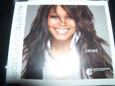 Janet Jackson All Night Nite (Don't Stop) Australian 4 Track CD Single