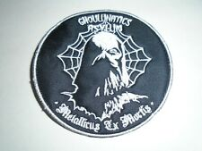 GHOUL EMBROIDERED PATCH