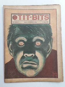 GUILLOTINE SPECTRA! - TIT-BITS #1863 (1945)  -ORIGINAL IN SPANISH- ARGENTINA