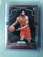 2019-20 Panini Prizm Basketball Rookie Coby White RC Chicago Bulls #253