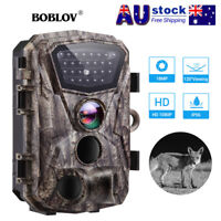 Trail Camera 18MP 1080P Infrared Night Vision Game Wildlife Hunting Cam 120° AU