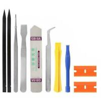 Cell Phone Repair Opening Pry Disassemble Tools Set Tweezer Kit Hot Spudger T5O2