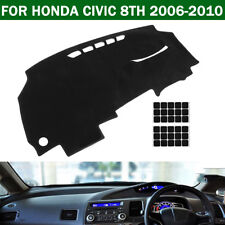 AU Car Dashboard Sun Cover Dashmat Dash Mat Carpet Pad For Honda Civic 2006-2010