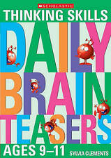 Daily Brainteasers for Ages 9-11, Clements, Sylvia , Good, FAST Delivery