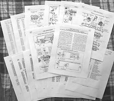 Lionel 1953-56 2353 Sf,2354 Nyc,2355 Wp,2356 (A,B,C or T) Loco Service Manual