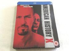American History X (1998) - Limited Edition Steelbook Blu-Ray Region B/A | New