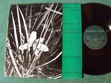 DELLER CONSORT : Madrigaux et chansons d'Angleterre - LP + BOOKLET HMO 30.593