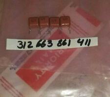metallized Polypropylene  film capacitor radial  630 VDC 0.047 UF +-10%