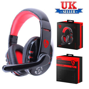 Bluetooth Wireless Gaming Headset Headphone With Mic For iPhone iPad PC