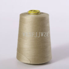 8000 Yards Khaki Industrial Overlock Sewing Machine Polyester Thread Sewing