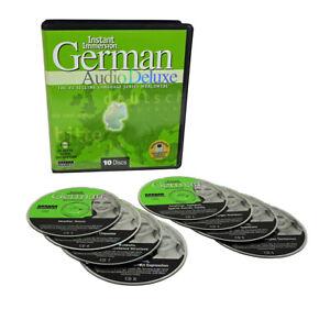 Learn to Speak GERMAN Language on 8 Audio CDs: listen,learn,practice in your car