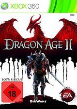 X360/XBOX 360 gioco-Dragon Age II (2) (usk18) (con imballo originale)