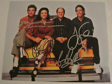 SEINFELD Cast SIGNED Photo Jerry Seinfeld Julia Louis-Dreyfus Richards Alexander