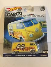Hot Wheels Cargo Carriers VW T1 Panel Bus Care Culture Real Riders Volkswagen
