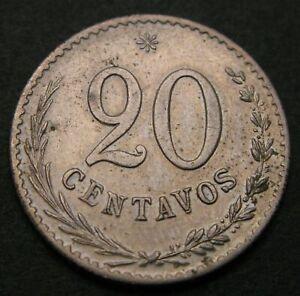 PARAGUAY 20 Centavos 1903 - Copper/Nickel - XF- - 1811