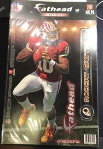 """Robert Griffin III Fathead - Washington Redskins 7.5"""" x 16.5"""" RG 3 F46"""