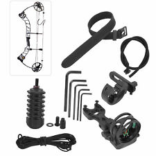 Archery Accessory Set 3pin Bow Sight Damper Arrow Rest for Compound Recurve Bows