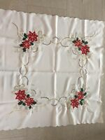 christmas tablecloth vintage