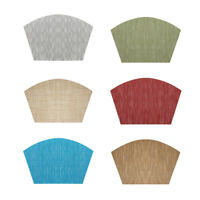 Wedge Weaved Non Slip PVC Placemats Dining Table Place Mats Heat Insulation US