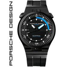PORSCHE Design. 6780.45.43.1218 DIVER BLACK. TITAN. Orologio da polso Uomo NUOVO.