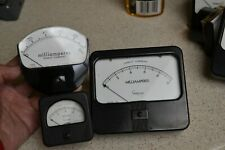 Simpson Marion Electric Instrument Vintage Dc Direct Current Lot of 3 meters