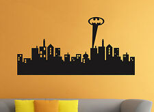 Wall Decal Gotham City Batman Comics Vinyl Sticker Kids Room Home Art Decor 1nw