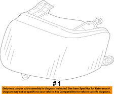 FORD OEM 01-04 Escape-Headlight-Head light Headlamp Assy Right 4L8Z13008AA