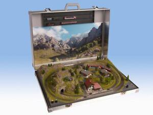 """NOCH 88400 Spur N Modellbahnkoffer """"Berchtesgaden"""" mit Spur N Gleisen  #NEU OVP#"""