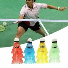 12pcs/set Colorful Shuttlecock Lightweight Training Badminton Balls Set Plastic