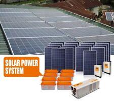 10Kw 110VAC/220VAC solar energy solar panel Green power system home DIY KIT