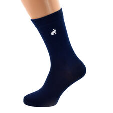Navy Blue Mens Socks with Rabbit Design Size UK 5-12 - X6N795