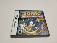 Sonic Classic Collection (Nintendo DS, 2010) CIB Complete TESTED Fast Shipping