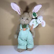 "Bearington Bears ""Jack & Rabbit� 14� Collector Rabbit Limited Sku 420135 Retired"