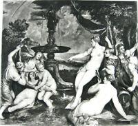 Mythology PRETTY NAKED NUDE WOMEN GIRLS NYMPHS OF DIANA ~ 1892 Art Print Gravure