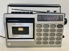 More details for national panasonic radio rq-513l boombox cassette player fm mw lw portable radio