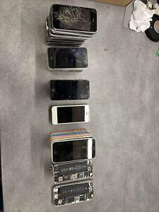 Lot 34 Iphone 3g 3gs 4 4s 5 5c 5s 6 HS