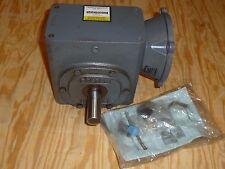 """BOSTON GEAR GEARBOX SPEED REDUCER, F726-10-B7-G, 10:1, 140TC input 1.125""""d Shaft"""