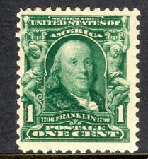 Sc#s 300 1 Cent Benjamin Franklin (1903) MNH Single SCV $27.50