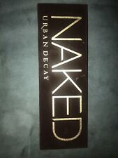 Urban Decay Naked Eyeshadow Palette New