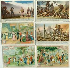 Vintage Liebig Meat Extract Cards Lot of 15 Diiferent