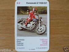 EASY RIDER 8D KAWASAKI Z1100ST KWARTET KAART, QUARTETT CARD,SPIELKARTE